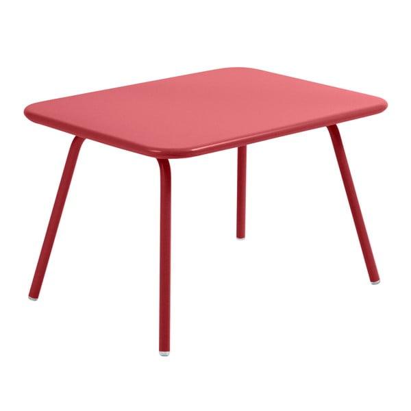 Sýtočervený detský stôl Fermob Luxembourg