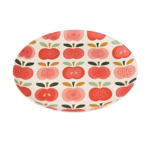 Bambusový tanier Rex London Vintage Apple, ⌀ 20 cm