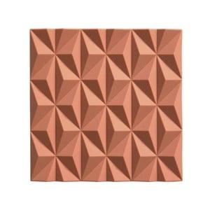 Oranžová silikónová podložka pod horúce nádoby Zone Origami Beak