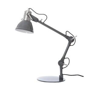 Tmavosivá stolová lampa Look4Lamps Casdock