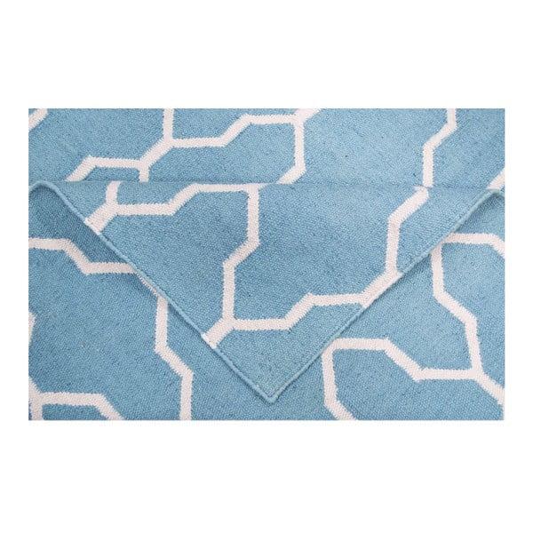 Vlnený koberec Kilim 408, 120x180 cm