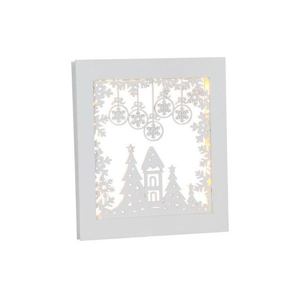 Závesná svietiaca dekorácia Best Season Frame Snowflake