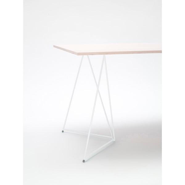 Biela noha ku stolu Master & Master Diamond, 70x70cm