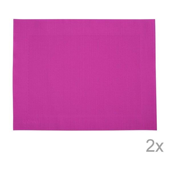 Sada 2 prestieraní Saleen Pink, 30x40 cm
