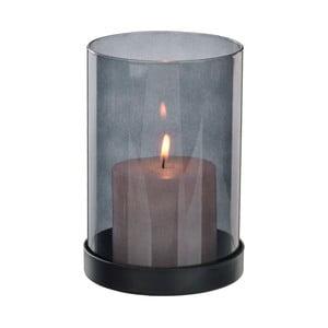 Fialový transparentný svietnik Native Luxury, ⌀10,5 cm