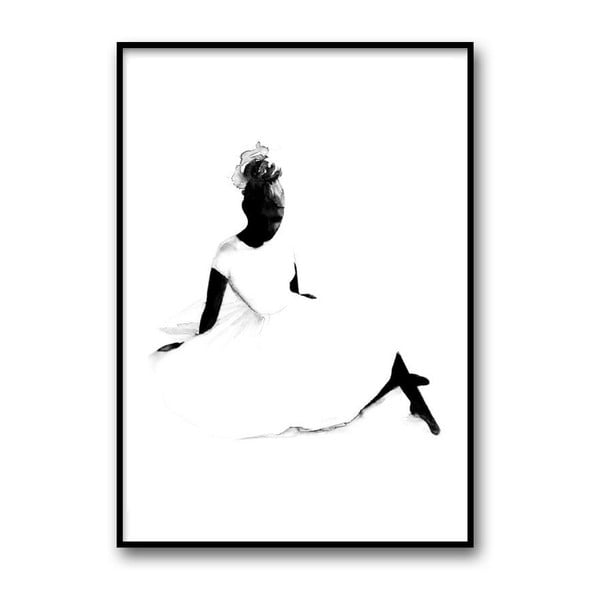 Autorský plagát Ballerina, A4