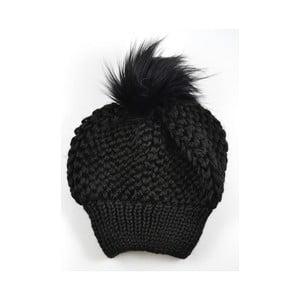 Dámska čiapka Beret Black