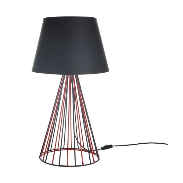 Stolová lampa Wiry Red/Black
