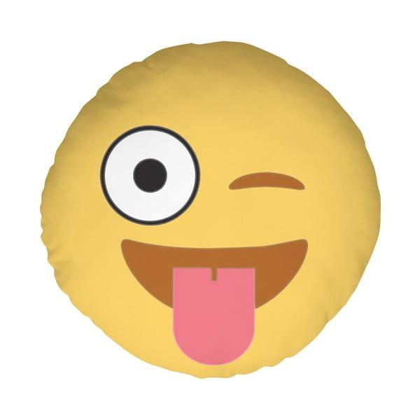 Vankúš Emoji Tongue, 39 cm