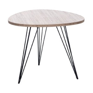 Stolík Retro Table Met, 60 cm