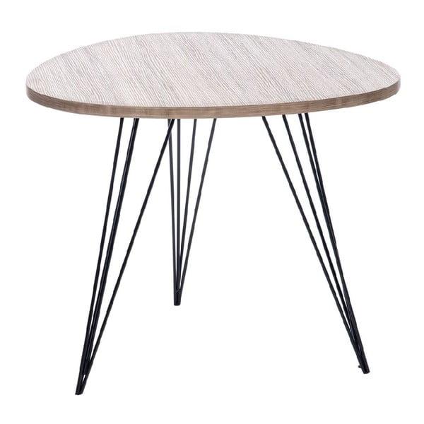 Stolík Retro Table Met, 60 cm