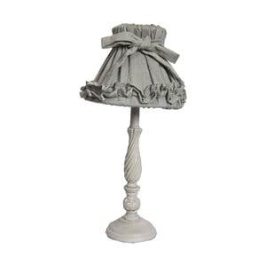 Stolová lampa Antic Line Romance Grey, 42cm
