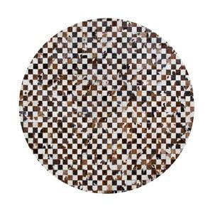 Kožený koberec Pipsa Normand, ⌀160 cm
