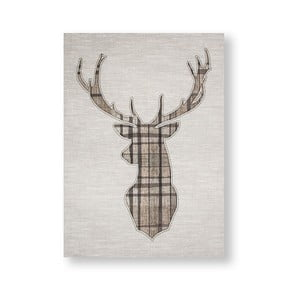 Obraz Graham & Brown Tartan Stag, 50 × 70 cm