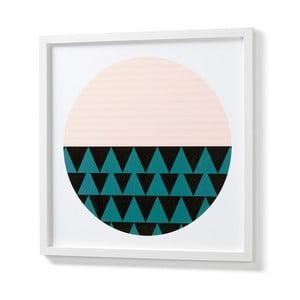 Obraz v bielom ráme La Forma Blanks Duo