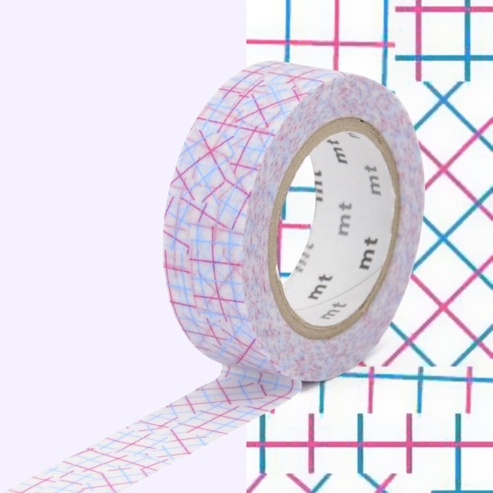 Washi páska MT Masking Tape Genevieve, návin 10 m