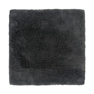 Čierna kúpeľňová predložka Aquanova Alma, 60x60cm