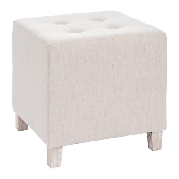 Béžová taburetka J-Line Button