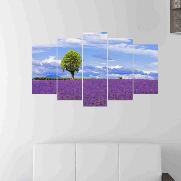 5-dielny obraz Lavender