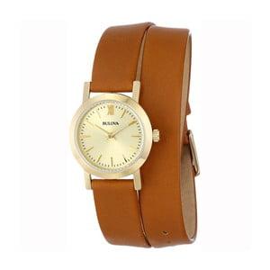 Dámske hodinky Bulova 97135 Yellow Gold/Brown