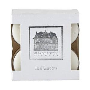 Sada 8 čajových sviečok s vôňou  thajskej záhrady Villa Collection
