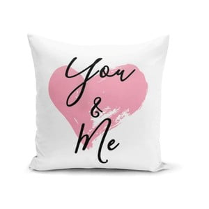 Obliečka na vankúš Minimalist Cushion Covers You & Me Heart, 45 × 45 cm