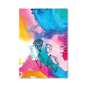 Plagát Shine Bright No.1, 30x42 cm
