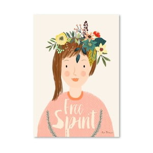 Plagát od Mia Charro - Free Spirit