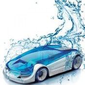 Auto poháńané vodou