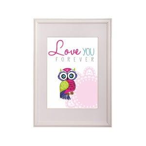 Zarámovaný obraz Owl Three