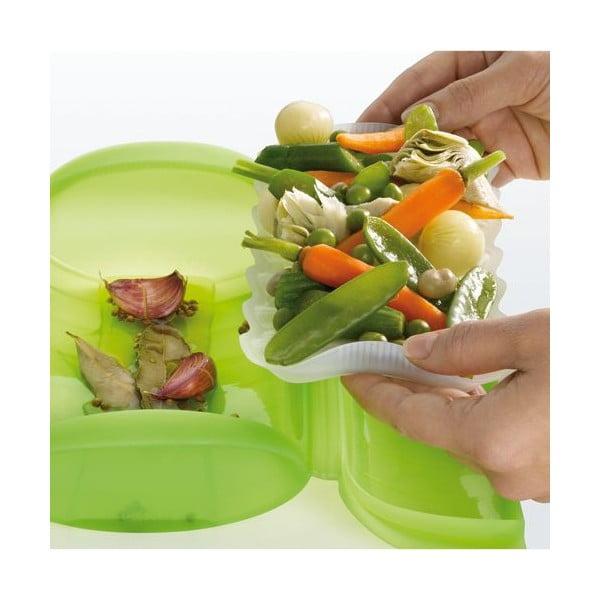 Naparovacie puzdro pre zdravé varenie Lékué, zelené