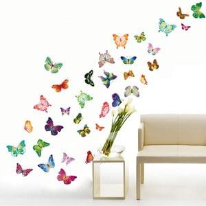 Samolepka na stenu Veselé motýliky