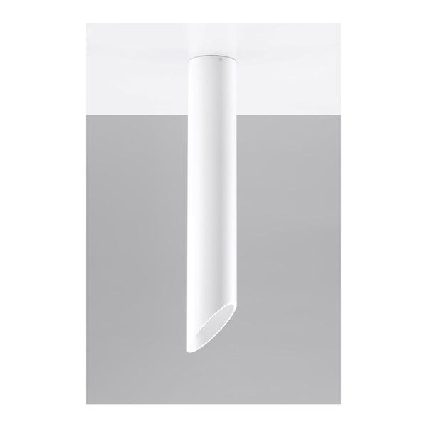 Biele stropné svetlo Nice Lamps Nixon, dĺžka 60 cm
