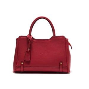 Kožená kabelka Anna Luchini 1171 Rosso