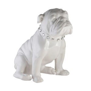 Keramická dekorácia Bulldog Light