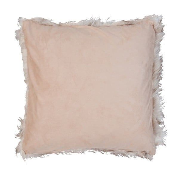 Hnedo-biela obliečka na vankúš Clayre & Eef Fur