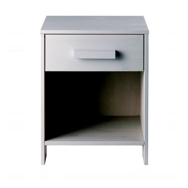 Nočný stolík Dennis, sivý