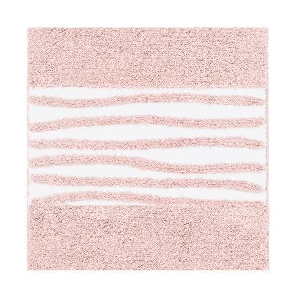 Kúpeľňová predložka Morgan Blush, 60x60 cm
