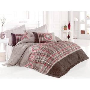 Sada prešívanej prikrývky na posteľ a dvoch vankúšov Seasons 250, 220x230 cm;