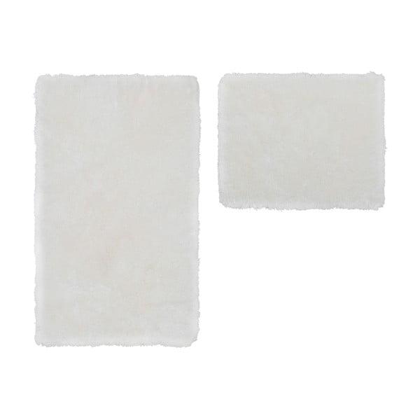 Sada 2 kúpeľňových predložiek Spotlight White