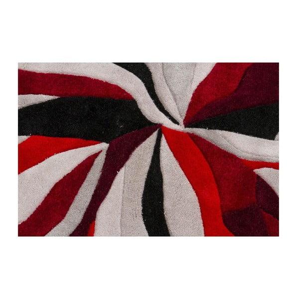 Koberec Splinter Red, 160x220 cm