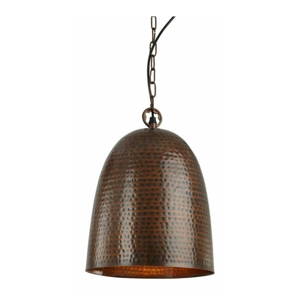 Stropné svetlo Bronze Bell, hnedá