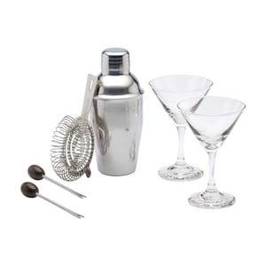 6-dielny koktailový set Kitchen Craft Martini Bar Craft