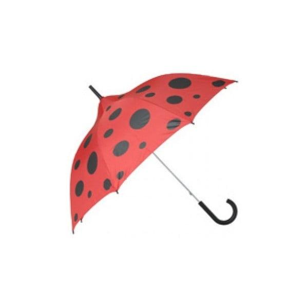 Detský dáždnik Ladies Ladybug, red/black