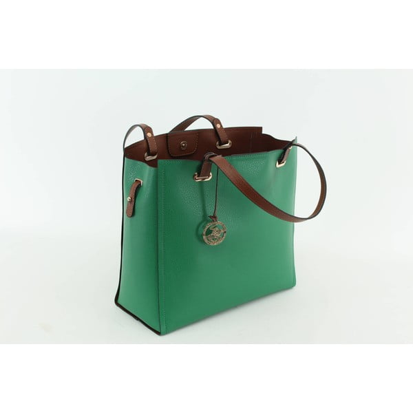 Kabelka Beverly Hills Polo Club 441 - Green/Tan