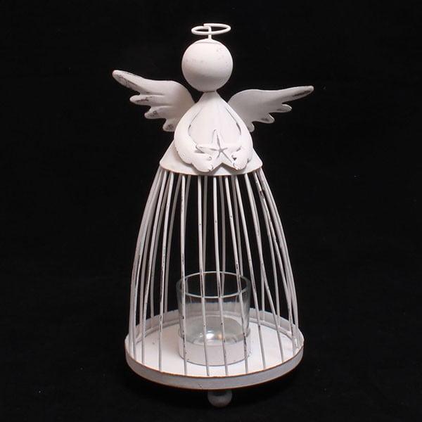 Svietnik s anjelom Dakls