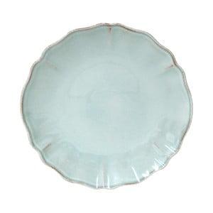 Tyrkysový kameninový dezertný tanier Costa Nova Alentejo, ⌀ 21 cm