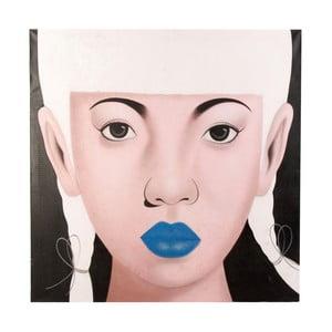 Obraz VICAL HOME Liento Chica Labios, 120 x 120cm