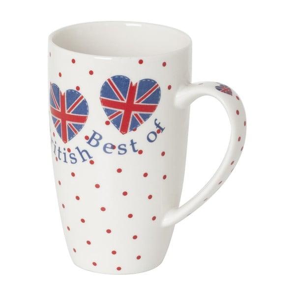 Hrnček z kostného porcelánu Sabichi Best of British, 380ml