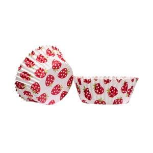 Sada 4 košíčkov na cupcaky Premier Housewares Strawberry